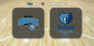Orlando Magic vs Memphis Grizzlies