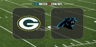 Green Bay Packers vs Carolina Panthers