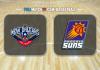 New Orleans Pelicans vs Phoenix Suns