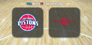 Detroit Pistons vs Houston Rockets