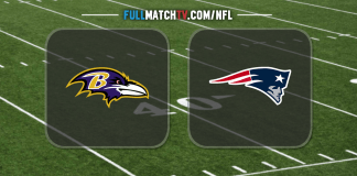 Baltimore Ravens vs New England Patriots
