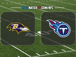 Tennessee Titans vs Baltimore Ravens