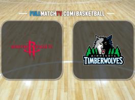 Houston Rockets vs Minnesota Timberwolves