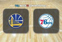 Golden State Warriors vs Philadelphia 76ers