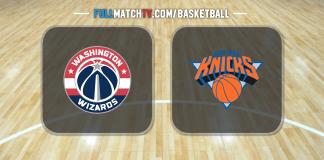 Washington Wizards vs New York Knicks