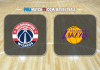 Washington Wizards vs Los Angeles Lakers
