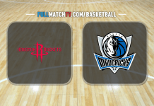 Houston Rockets vs Dallas Mavericks