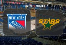 New York Rangers vs Dallas Stars