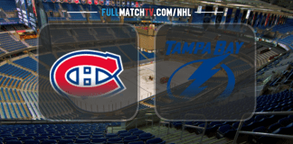 Montreal Canadiens vs Tampa Bay Lightning
