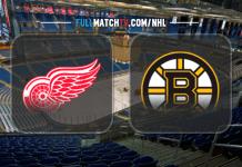 Detroit Red Wings vs Boston Bruins