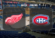 Detroit Red Wings vs Montreal Canadiens