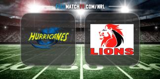 Hurricanes vs Lions