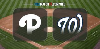 Philadelphia Phillies vs Washington Nationals