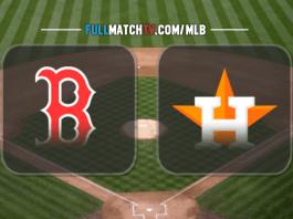 Boston Red Sox vs Houston Astros