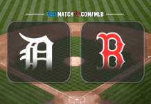 Detroit Tigers vs Boston Red Sox