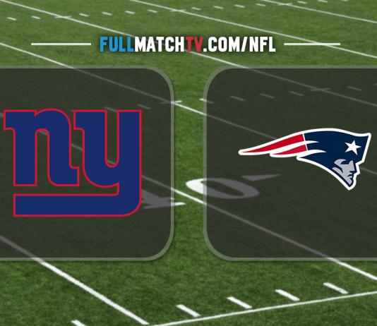 New York Giants vs New England Patriots