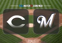 Cincinnati Reds vs Milwaukee Brewers