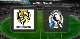 Richmond Tigers vs Collingwood Magpies