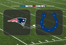 New England Patriots vs Indianapolis Colts