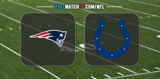 New England Patriots vs Indianapolis Colts