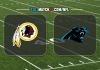 Washington Redskins vs Carolina Panthers