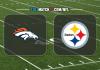 Denver Broncos vs Pittsburgh Steelers