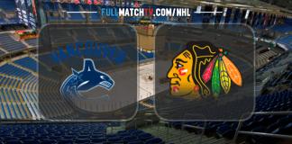 Vancouver Canucks vs Chicago Blackhawks