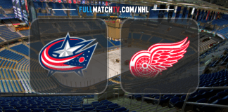 Columbus Blue Jackets vs Detroit Red Wings