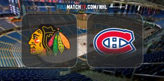 Chicago Blackhawks vs Montreal Canadiens