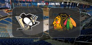 Pittsburgh Penguins vs Chicago Blackhawks