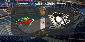 Minnesota Wild vs Pittsburgh Penguins