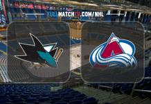 San Jose Sharks vs Colorado Avalanche