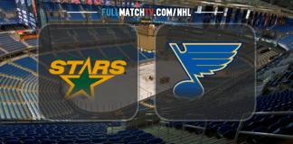 Dallas Stars vs St Louis Blues