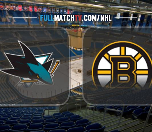 San Jose Sharks vs Boston Bruins