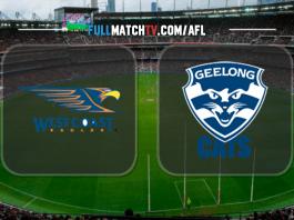 West Coast Eagles vs Geelong Cats