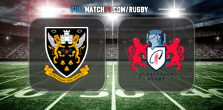 Northampton Saints vs Gloucester Rugby