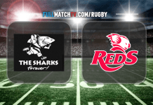 The Sharks vs Reds