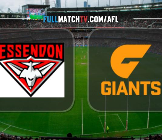 Essendon Bombers vs GWS Giants