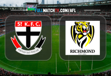 St. Kilda Saints vs Richmond Tigers