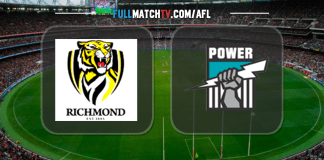 Richmond Tigers vs Port Adelaide Power