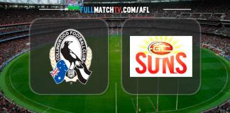 Collingwood Magpies vs Gold Coast Suns