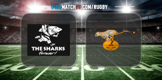 Sharks vs Free State Cheetahs