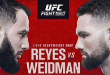 Reyes vs Weidman