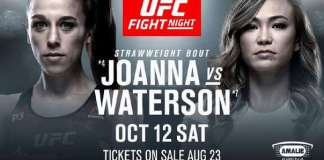 UFC Fight Night 161 Jedrzejczyk vs Waterson