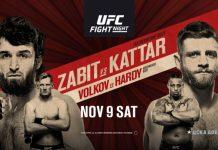 UFC Fight Night 163 Zabit vs Kattar
