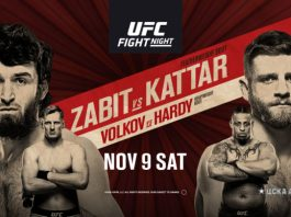 UFC Fight Night 163 Zabit vs Kattar