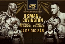 UFC 245: Usman vs Covington