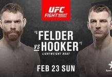 UFC Fight Night 168: Felder vs. Hooker