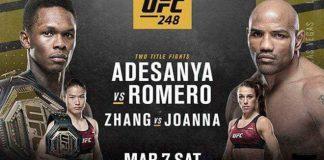 UFC 248: Israel Adesanya vs. Yoel Romero