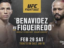 UFC Fight Night 169 - Benavidez vs Figueiredo